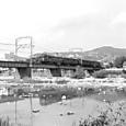 宝塚南口付近の武庫川橋梁で。603