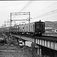 627 試運転電車が大和川を渡る